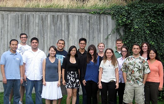 Photo of 2009 Graduate Students